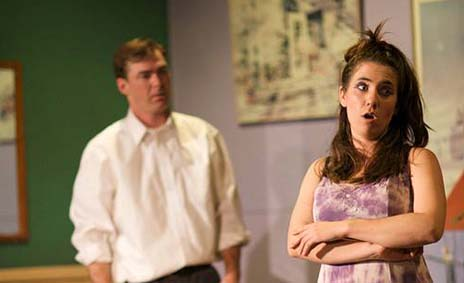 Performed in an improv troupe and was the lead in Barefoot In The Park