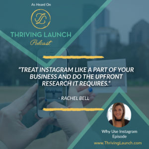 Why Use Instagram - Ross Johnson and Rachel Bell - Thriving